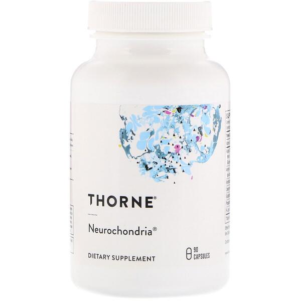Thorne Research, Нейрохондрия, 90 капсул на растительной основе
