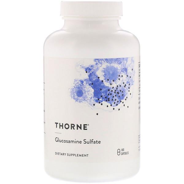 Сульфат глюкозамина, 180 капсул на растительной основе