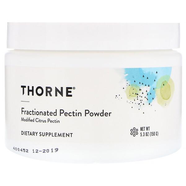 Thorne Research, Фракционированный порошкообразный пектин, 5,3 унц. (150 г)