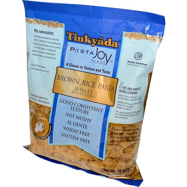 Tinkyada, PastaJoy Ready, макароны из коричневого риса в виде ракушек, 16 унций (454 г) (Discontinued Item)