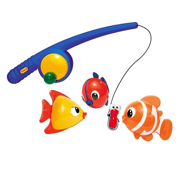 Tolo Toys, Funtime Fishing, 18+ Months (Discontinued Item)