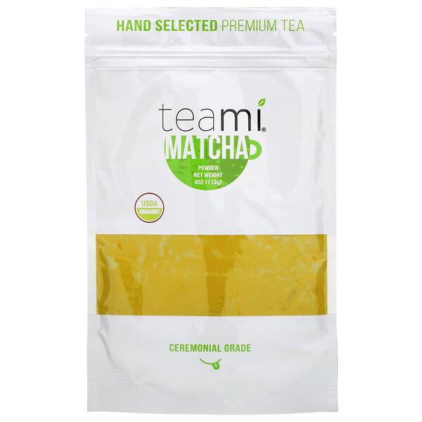 Organic, Matcha Powder, 4 oz (113 g)