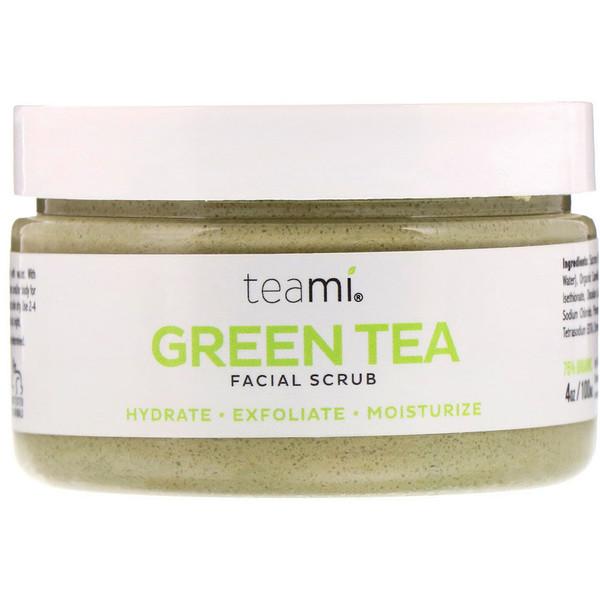 Green Tea Facial Scrub, 4 oz (100 ml)
