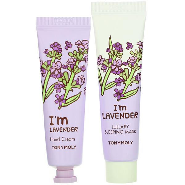 I'm Lavender, Mask & Hand Cream Set, 4 Piece Set