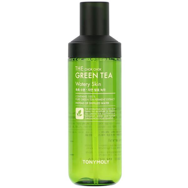 The Chok Chok Green Tea, Watery Skin, 180 ml