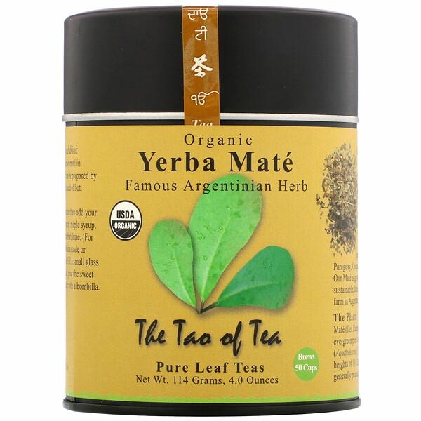 Органический чай йерба-мате, 114г (4,0унции)
