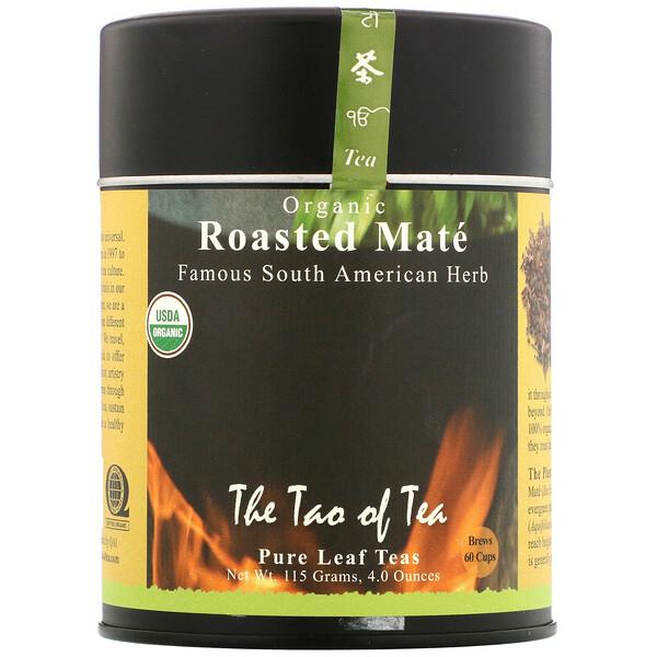 The Tao of Tea, Органический жареный мате, 115г (4,0унции)