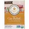 Traditional Medicinals, Чай для поддержки пищеварения, органическое средство от газов, без кофеина, 16чайных пакетиков, 24г (0,85унции)