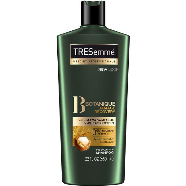 Tresemme, Восстанавливающий шампунь для поврежденных волос Botanique, Damage Recovery, 650мл