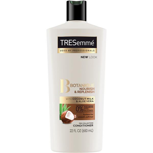 Tresemme, Восстанавливающий кондиционер для волос Botanique, Nourish & Replenish, 650 мл