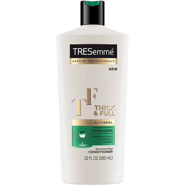 Tresemme, Кондиционер для ослабленных волос Thick & Full, 650 мл