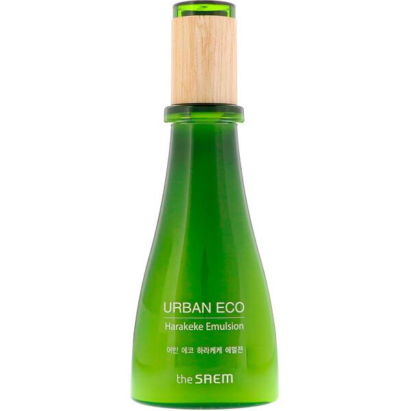 The Saem, Urban Eco, эмульсия для лица с экстрактом харакеке, 4,73 ж. унц. (140 мл)