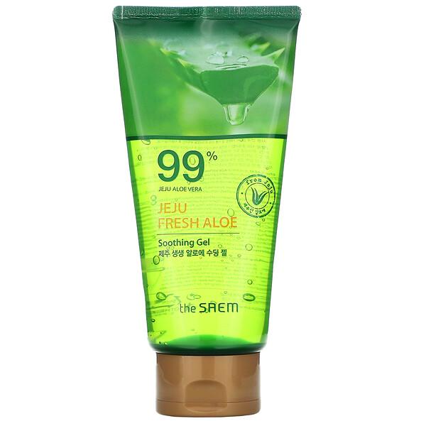Jeju Fresh Aloe, 99% Aloe Vera Soothing Gel, 10.14 fl oz (300 ml)