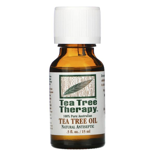 Масло чайного дерева, 0,5 жидкой унции (15 мл)