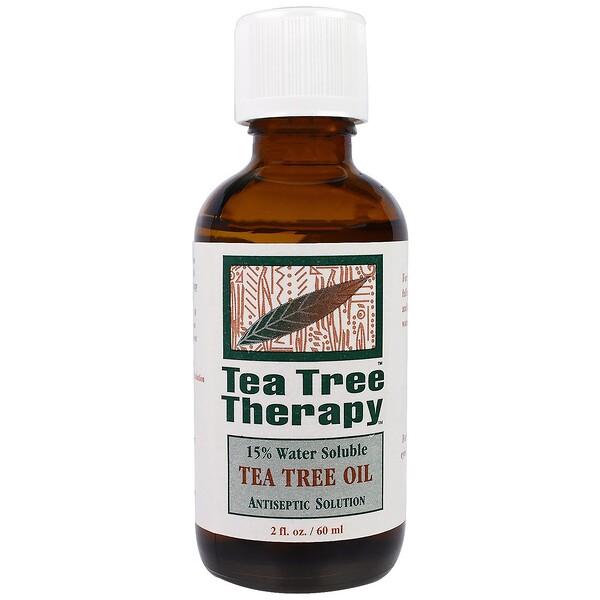 Масло чайного дерева, 2 жидких унции (60 мл)