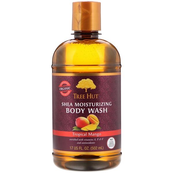 Увлажняющий гель для душа с маслом ши, тропическое манго, 502 г