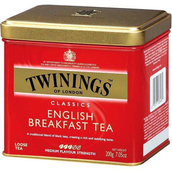 Classics, листовой чай English Breakfast, 200 г (7,05 унции)