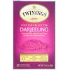 Twinings, 100% Pure Black Tea, Darjeeling , 20 Individual Tea Bags, 1.41 oz (40 g)