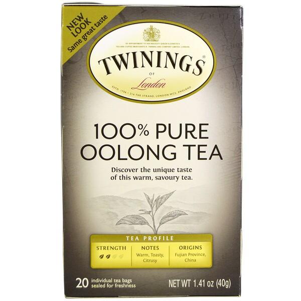 Twinings, Origins, китайский чай Улун, 20 чайных пакетиков, 1,41 унции (40 г)