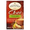 Twinings, Чай масала с ароматом пряных яблок, 20 чайных пакетиков, 1,41 унции (40 г)