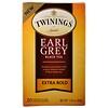 """Twinings, """"Эрл Грей"""", черный чай, крепкий, 20 чайных пакетиков, 1,41 унции (40 г)"""