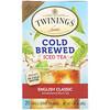 Twinings, Холодный чай , английский классический 20 чайных пакетиков, 1.41 унции (40 г)