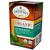 Twinings, 100% органический травяной чай, мята перечная, 20 пакетиков, 1,41 унции (40 г)