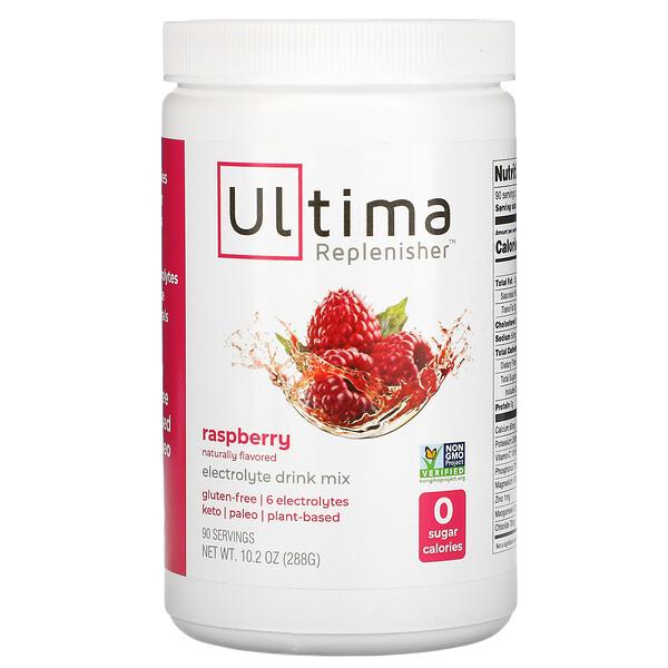 Electrolyte Drink Mix, Raspberry, 10.2 oz (288 g)
