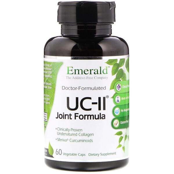 UC-II Формула для здоровья суставов, 60 растительных капсул