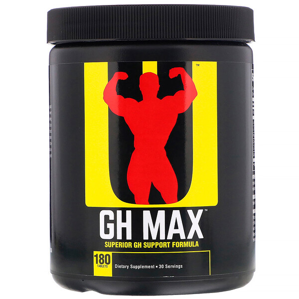 GH Max, Superior GH Support Formula, 180 таблеток