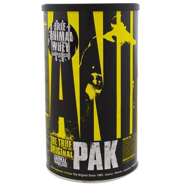 Animal Pak, тренировочные комплексы, 44 упаковки