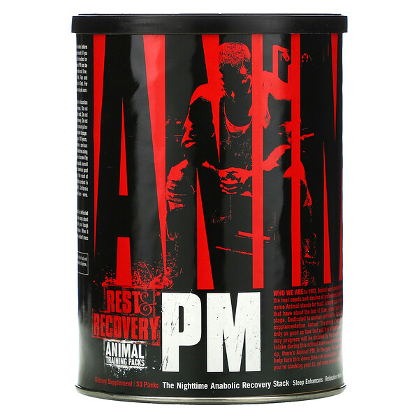 Animal PM, The Nighttime Anabolic Recovery Stack, 30 Packs
