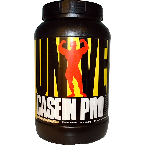 Universal Nutrition, Casein Pro, Protein Powder, Chocolate Peanut Butter Banana, 2 lbs (909 g) (Discontinued Item)