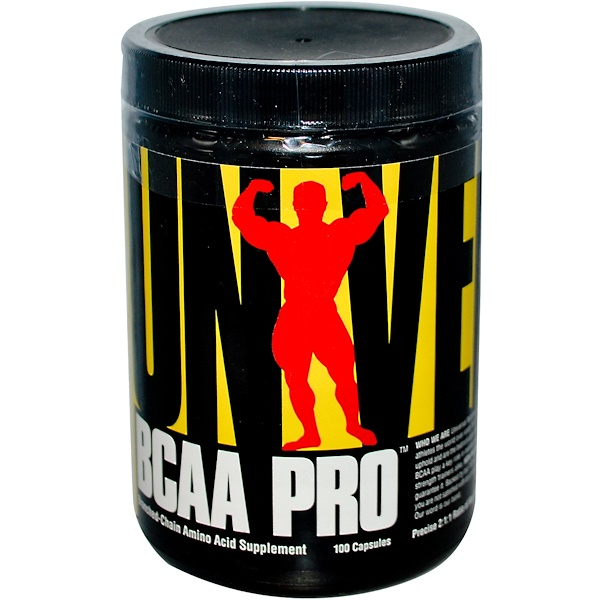 Universal Nutrition, BCAA Pro, 100 капсул