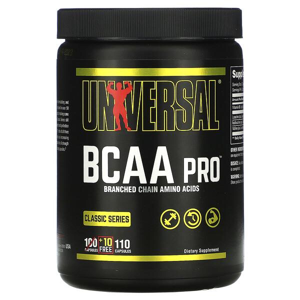 BCAA Pro, 100 капсул