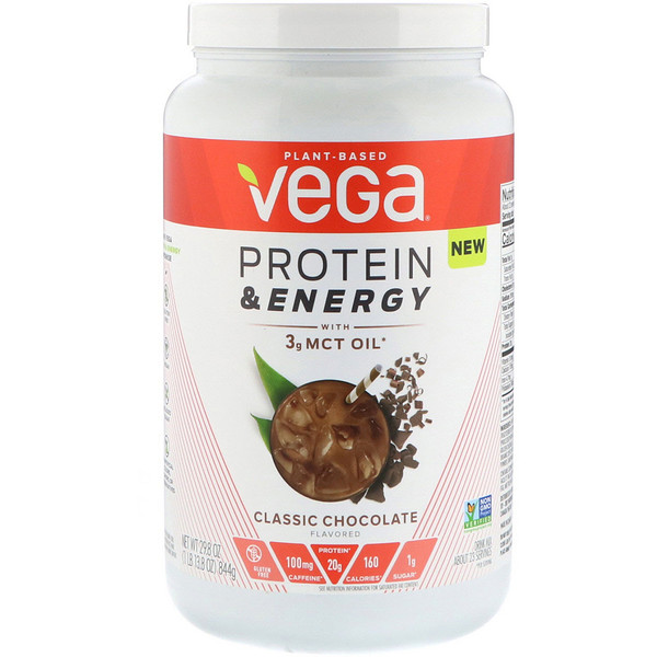 Protein & Energy, Classic Chocolate, 1.86 lbs (844 g)
