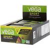 Vega, Sport, Протеиновый батончик, Хрустящий шоколад и мята, 12 батончиков, 2,5 унц. (70 г) каждый