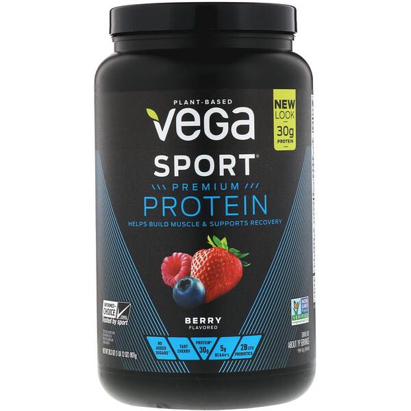 Sport, белковая смесь премиум-качества, со вкусом ягод, 801 г (28,3 унции)
