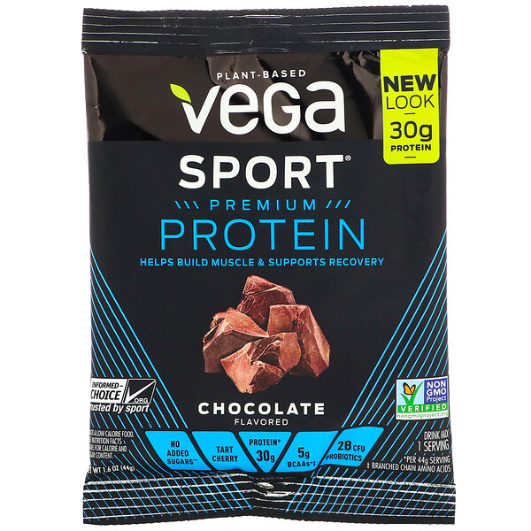 Sport Premium Protein, Chocolate, 1.6 oz (44 g)