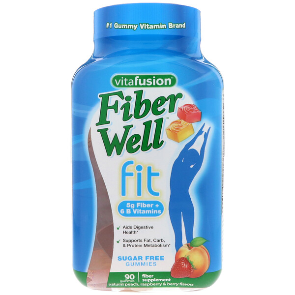 Витамины FiberWell Fit, 90 жевательных таблеток
