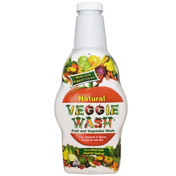 Veggie Wash, Fruit and Vegetable Wash, 32 oz (946 ml)