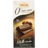 Valor, 0% добавленного сахара, сливочный молочный шоколад с лесным орехом, 3,5 унции (100 г)