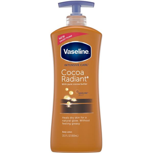 Vaseline, Intensive Care, лосьон для тела «Сияние какао», 600мл (20.3 жидк.унций)