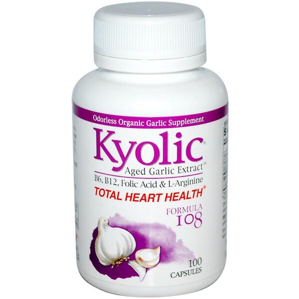 Пищевая добавка «Совершенно здоровое сердце», формула 108, 100 капсул