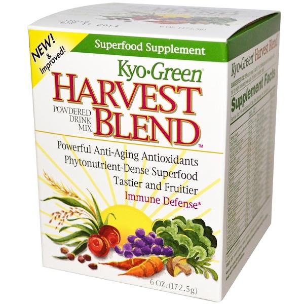 Kyolic, Kyo Green, урожайная смесь, порошковая смесь для приготовления напитка, 6 унций (172,5 г) (Discontinued Item)