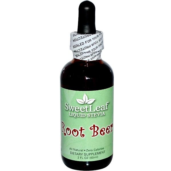 SweetLeaf, жидкая стевия со вкусом рутбира, 2 жидкие унции (60 мл)
