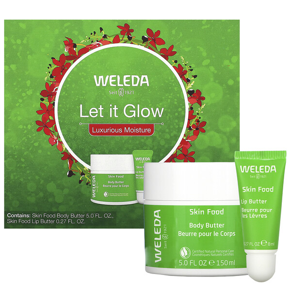 Weleda, Let It Glow, Luxurious Moisture, 2 Piece Set