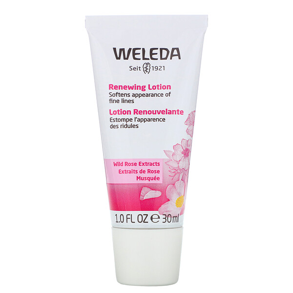 Renewing Lotion, Wild Rose Extracts, 1.0 fl oz (30 ml)