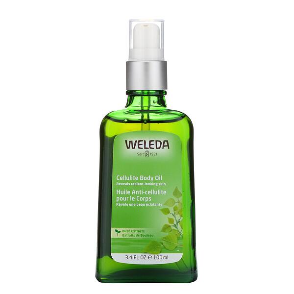 Cellulite Body Oil, Birch Extracts, 3.4 fl oz (100 ml)