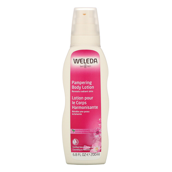 Pampering Body Lotion, Wild Rose Extracts, 6.8 fl oz (200 ml)